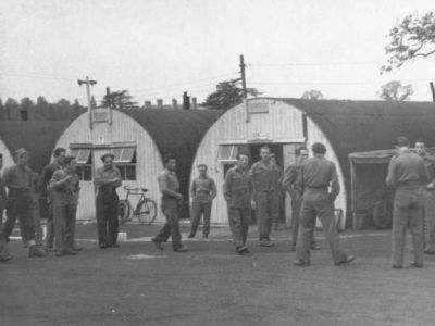 POW camp with Nissen Huts (not Fishers Camp)