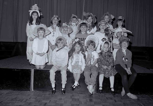 Easter Hats workshop 1987